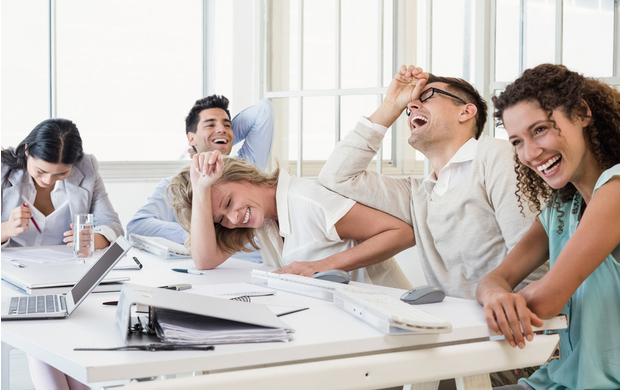 Should You Hold Back the Humour in the Office?