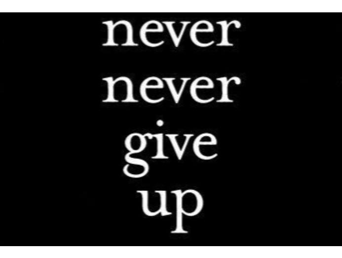Why you should 'Never Give Up'  in Sales.